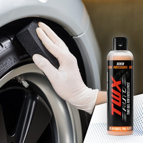 TWX Auto Tires® Gel Para Neumáticos Brillantes