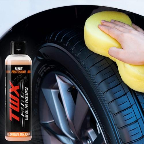 TWX Auto Tires® Gel Para Neumáticos Brillantes
